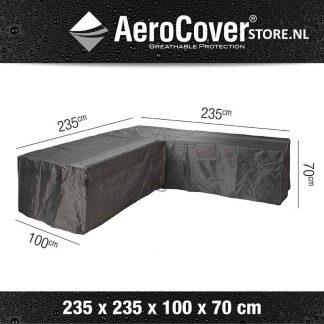 L-vorm afdekhoes 235x235 voor loungeset